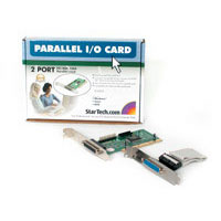 StarTech.com PCI2PECP 2 Port EPP/ECP PCI Parallel Card