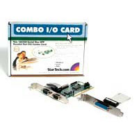 StarTech.com PCI2S1P 2S1P PCI Serial Parallel Combo Card with 16550 UART - IEEE 1284 Card - Serial Parallel PCI - PCI Serial Adapter