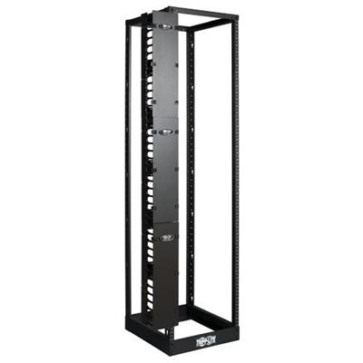 TrippLite SRCABLEVRT6 Open Frame Rack 6ft Vertical Cable Manager 6in Wide