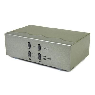 StarTech.com ST222MXA 2x2 VGA Matrix Video Switch Splitter with Audio