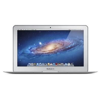11.6 MacBook Air dual-core Intel Core i5 1.6GHz  2GB RAM  64GB Flash Storage  Intel HD Graphics 3000  Mac OS X Lion