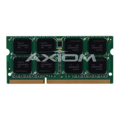 Axiom Memory A2885432-AX AX - DDR3 - 2 GB - SO-DIMM 204-pin - 1333 MHz / PC3-10600 - unbuffered - non-ECC - for Alienware M17x