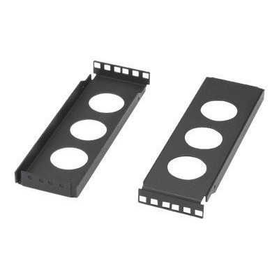 Black Box REB2-2U-5 Rail Extension Bracket 5 Deep/ 2 Bra