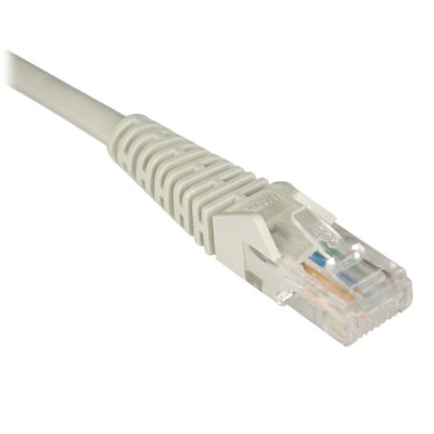 TrippLite N001-025-GY Cat5e 350MHz Snagless Molded Patch Cable (RJ45 M/M) - Gray  25-ft.