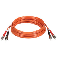 TrippLite N302-010 10ft Duplex Multimode 62.5/125 Fiber Optic Patch Cable ST-ST 3 meter