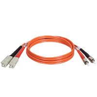 TrippLite N304-003 Duplex Multimode 62.5/125 Fiber Patch Cable (SC/ST)  1M (3-ft.)