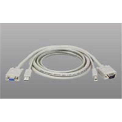 TrippLite P758-010 USB Cable Kit for KVM Switch B006-VU4-R  10-ft.