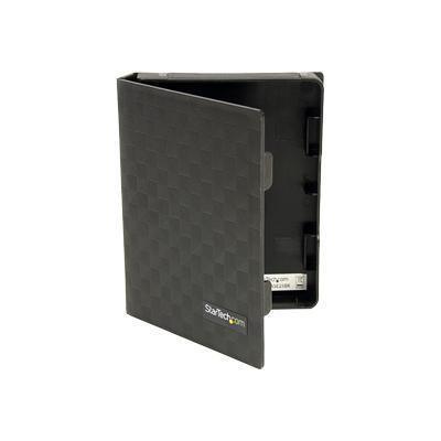 StarTech.com HDDCASE25BK 2.5in Anti-Static Hard Drive Protector Case - Black (3pk)