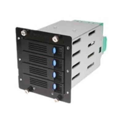 Chenbro America 84H220910-079 Storage drive cage with cooling fan - 3.5 - black - for  SR10564  SR10565  SR10566  SR20964  SR20965  SR20966  SR20967  Mid Range
