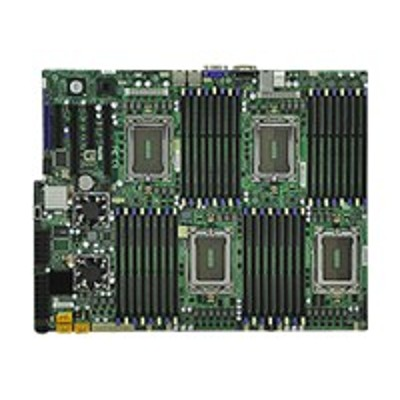 Super Micro MBD-H8QG6-F-B SUPERMICRO H8QG6-F - Motherboard - SWTX - Socket G34 - 4 CPUs supported - AMD SR5690/SR5670/SP5100 - 2 x Gigabit LAN - onboard graphic