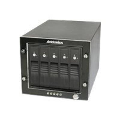 Addonics RT3S5HEU3 RAID Tower III RT3S5HEU3 - Hard drive array - 5 bays (SATA) - HDD x 0 - SATA 3Gb/s  USB 3.0 (external)