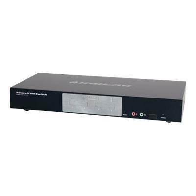 Iogear GCS1214TAA 4-Port Dual-Link DVI Secure KVM Switch GCS1214TAA - KVM / audio switch - USB - 4 x KVM / audio - 1 local user - desktop