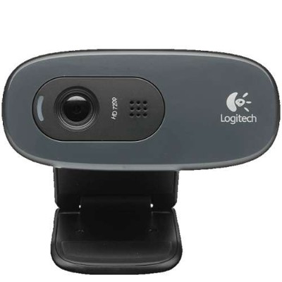 Logitech 960-000694 HD Webcam C270 - Web camera - color - 1280 x 720 - audio - USB 2.0