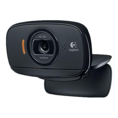 Logitech 960-000841 HD Webcam B525 - Web camera - color - 1280 x 720 - audio - USB 2.0