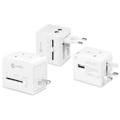 MacAlly Peripherals LP-PTCII Universal AC Adaptor with USB Charging