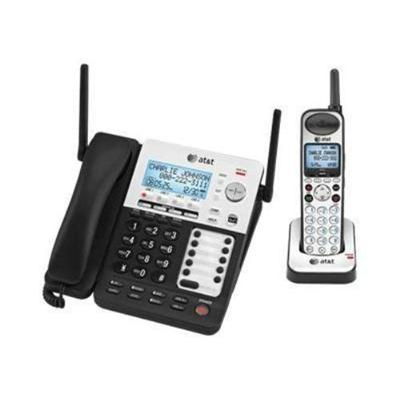 AT&T SB67138 SynJ 4-Line Corded / Cordless Deskset