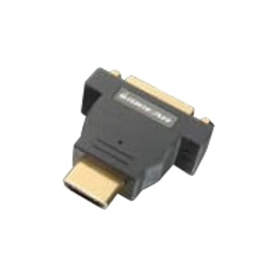 Iogear GHDMDVIF Video adapter - dual link - HDMI / DVI - HDMI (M) to DVI-D (F)