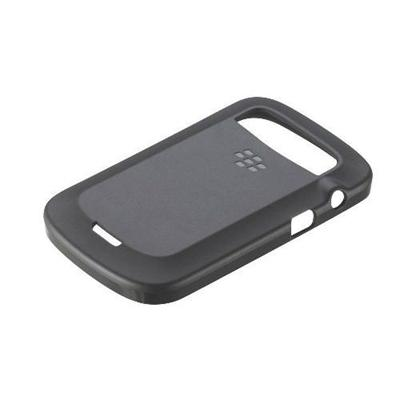 TPU Soft Shell Case for BlackBerry 9900 9930 - Black