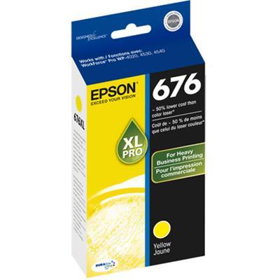 Epson T676XL420 676XL - Yellow - original - ink cartridge - for WorkForce Pro WP-4010  4020  4023  4090  4520  4530  4533  4540  4590