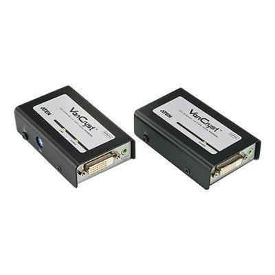 Aten Technology VE600A VanCryst VE600A DVI Extender with Audio - Video/audio extender - up to 197 ft