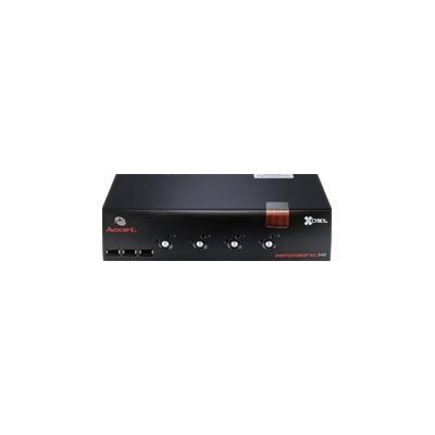 Avocent SC340-001 SwitchView SC340 - KVM / audio / USB switch - USB - 4 x KVM port(s) + 4 x audio - 1 local user - desktop
