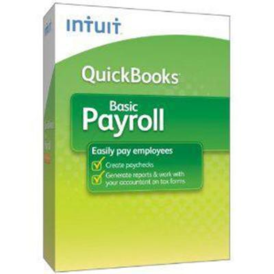 Quickbooks Basic Payroll 2012 - Complete Package