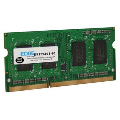 Edge Memory PE229108 4GB (1X4GB) PC3-10600 DDR3 SDRAM SoDIMM 204-pin Memroy Module