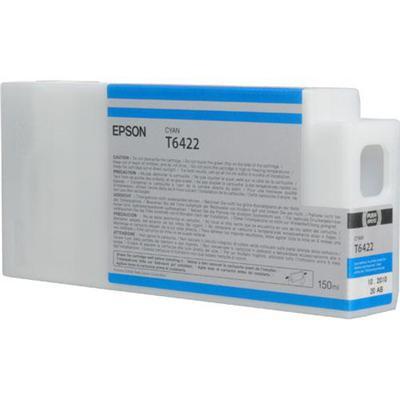 Epson T642200 642 - 150 ml - cyan - original - ink cartridge - for Stylus Pro 7900  Pro 9900  Pro WT7900 Designer Edition