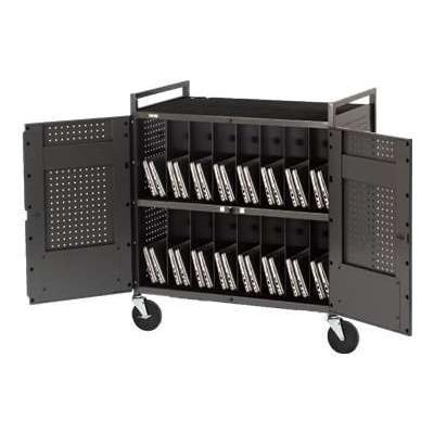 Basics Micro Computer Netbook Storage Cart Netbook32-rn - Cart