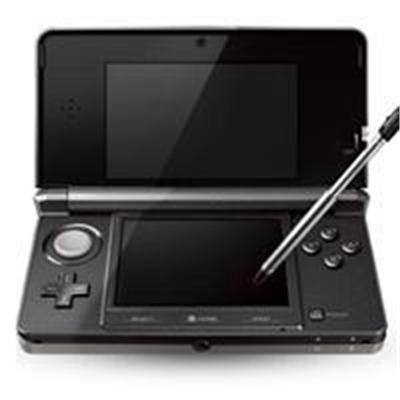 3DS Handheld Game Console - Cosmo Black (Open Box Product Limited Availability No Back Orders)