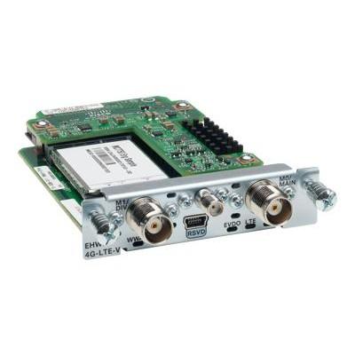 Cisco EHWIC-4G-LTE-V= 4G LTE Wireless WAN Card - wireless cellular modem