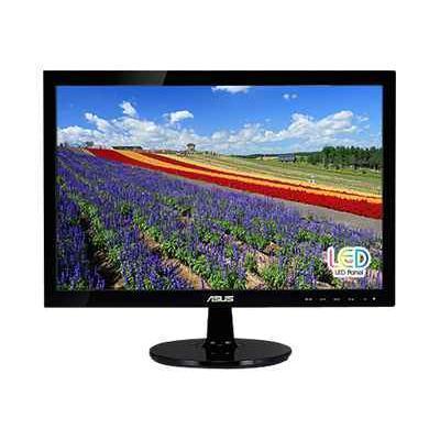 ASUS VS197D-P VS197D-P - LED monitor - 18.5 - 1366 x 768 - 250 cd/m² - 5 ms - VGA - black
