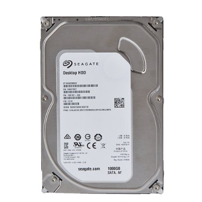 Seagate ST1000DM003 Desktop HDD ST1000DM003 Hard drive 1 TB internal 3.5 SATA 6Gb s 7200 rpm buffer 64 MB