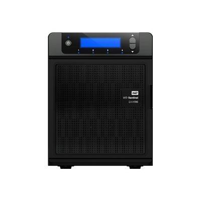 WD WDBLGT0080KBK-NESN Sentinel DX4000 8TB - Small Office Storage Server with Complete Data Protection