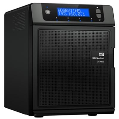 WD WDBLGT0120KBK-NESN Sentinel DX4000 12TB - Small Office Storage Server with Complete Data Protection
