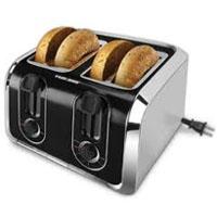 Melitta USA TR1400SB B&D 4-Slice Toaster