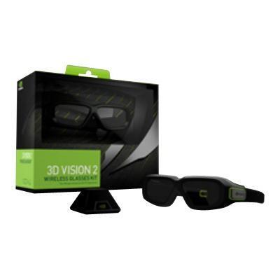 NVIDIA 942-11431-0007-001 GeForce 3D Vision 2 Wireless Glasses Kit - 3D glasses - active shutter 8899407