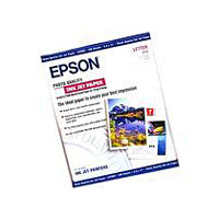 Epson S041111 8.5 x 11 High Quality Inkjet Paper - 100 Sheets