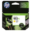 HP Inc. 951XL Yellow Officejet Ink Cartridge - can be used with the HP Officejet Pro 8600 series