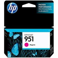 HP 951 Magenta Officejet Ink Cartridge - can be used with the HP Officejet Pro 8600 series