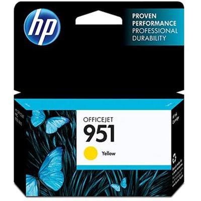 HP Inc. CN052AN#140 951 - Yellow - original - ink cartridge - for Officejet Pro 251dw  276dw  8100  8600  8600 N911a  8610  8615  8616  8620  8625  8630