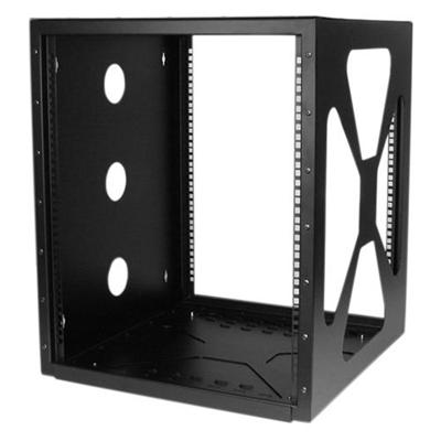 StarTech.com RK1219SIDEM 12U Sideways Wall-Mount Rack for Servers - Side-Mount Server Rack for Easy Access