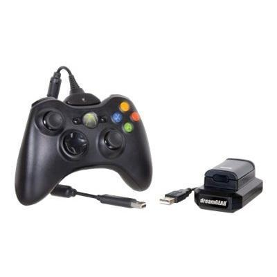 dreamGEAR DG360 1708 i.Sound Power Kit Wireless game controller battery battery charger NiMH 900 mAh black for Xbox 360