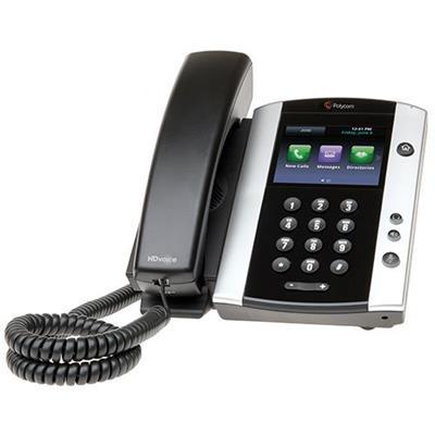 Polycom 2200-44500-025 VVX 500 - VoIP phone - SIP  RTCP  RTP  SRTP - multiline