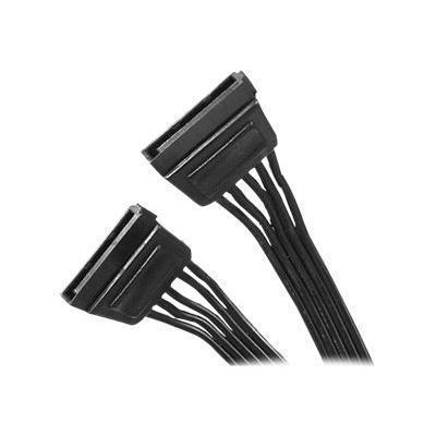 StarTech.com SATAPOW36 SATA Power Cable Adapter - Power cable - SATA power (M) to SATA power (M) - 3 ft - black