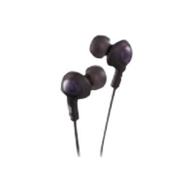 JVC HAFX5B HA-FX5-B Gumy PLUS phones - Earphones - in-ear - 3.5 mm plug - noise isolating - for Apple iPad 1  2  iPhone 3G  3GS  4  iPod  iPod classic  iPod min