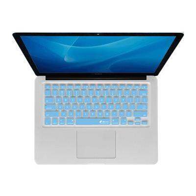 KB Covers CB-M-BLUE Checkerboard Keyboard Cover CB-M-Blue - Notebook keyboard protector - blue  clear - for Apple MacBook (13.3 in)  MacBook Air (13.3 in)  MacB