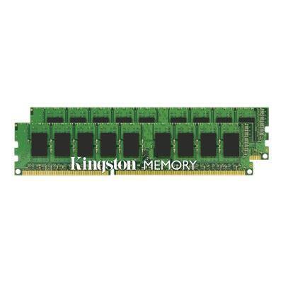 Kingston KVR1333D3E9SK2/16G ValueRAM - DDR3 - 16 GB: 2 x 8 GB - DIMM 240-pin - 1333 MHz / PC3-10600 - CL9 - 1.5 V - unbuffered - ECC