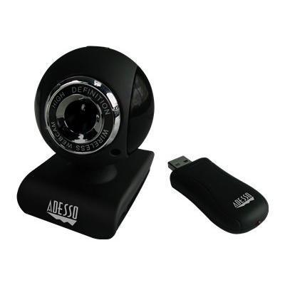 Adesso CYBERTRACK V10 CyberTrack V10 - Web camera - color - 0.3 MP - audio - wireless - USB 2.0