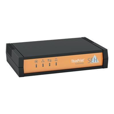 SEH Technology M03872 ThinPrint Gateway TPG-25 - Print server - 10Mb LAN  USB  100Mb LAN  GigE  USB 2.0